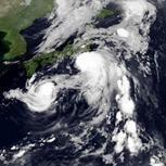 Dianmu, Kompasu, Mindulle et Lionrock : tempêtes sur le Pacifique