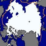 La surface glacée de l'Arctique très inférieure à la normale