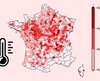 13 mois consécutifs plus chauds que la normale en France !