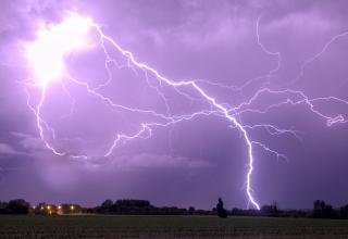 Bilan en images des orages de la nuit de lundi à mardi