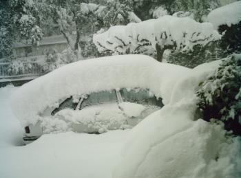 Retour sur l'épisode neigeux exceptionnel de mars 2010 en Méditerranée