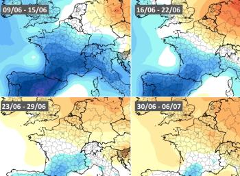 Quelle météo pour la suite du mois de juin en France ?