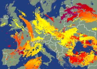 L'actualité météo dans le monde en cette mi-juin 2020
