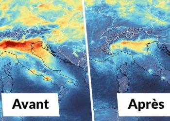 La pollution chute avec le confinement lié au coronavirus