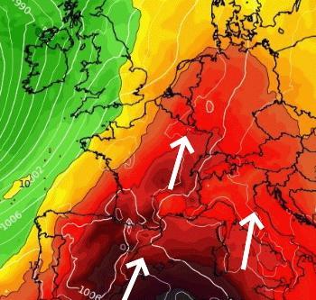 Pic de chaleur sur la France entre mercredi et vendredi