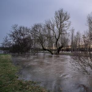 Pluies abondantes et inondations sur le nord-est de la France