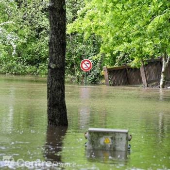 Pluie abondante, inondations et crues sur le Centre de la France