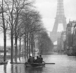 Il y a 110 ans la crue centennale de la Seine inondait Paris