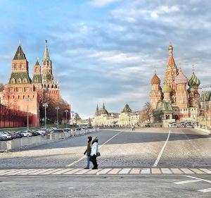 Douceur exceptionnelle et Noël sans neige à Moscou