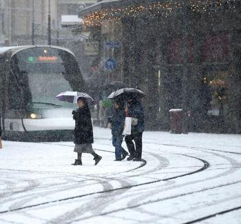 Les chances (ou risques) de neige en plaine après la mi-janvier