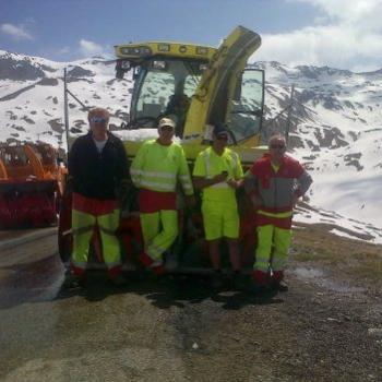 Alpes : Ouverture du col de l'Iseran en Savoie