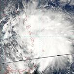 Tempête tropicale Matthew sur les Antilles