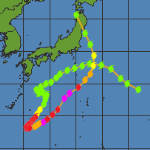 L'ex-typhon Lionrock frappe le Japon après un parcours atypique