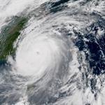 Typhon Megi entre Taïwan et la Chine