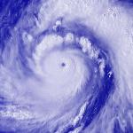 Super typhon Meranti entre Taïwan et Chine