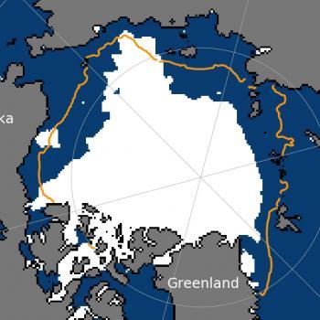 Ralentissement de la fonte de la banquise Arctique : pas de record en 2018