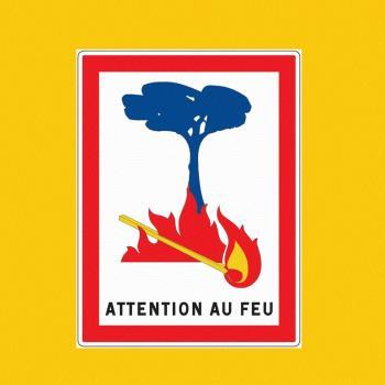 Fort risque d'incendie dans les régions méditerranéennes