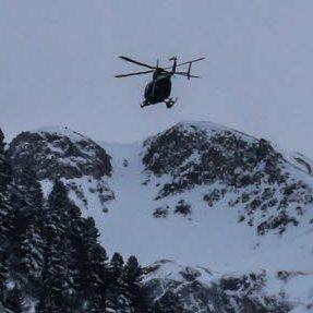 Avalanche tragique dans les Alpes à Valfréjus en Savoie