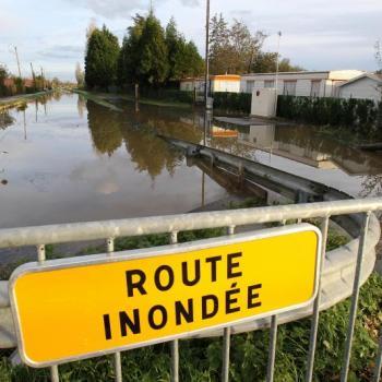 Fortes pluies et inondations dans le Pas-de-Calais