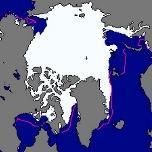 La surface de la banquise Arctique au plus bas