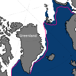 Banquise de l'Arctique & de l'Antartique toujours en retrait