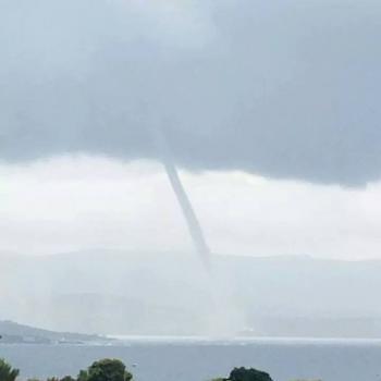 Trombe et tornade en Corse et peut-être en Eure et Loir