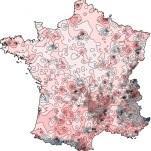 Bilan météo cartographié de l'année 2016 en France