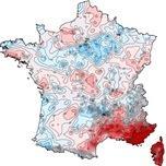 Bilan cartographié de l'été 2017 en France