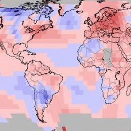 Août 2018 chaud dans le Monde