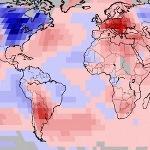 Avril 2018 chaud dans le Monde