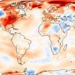 Février 2017 extrêmement doux dans le Monde