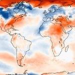 Février 2018 froid en Europe mais doux dans le Monde