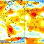 Juillet 2017 le plus chaud dans le Monde selon la NASA