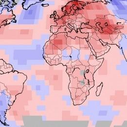 Juillet 2018 chaud dans le Monde