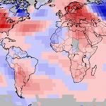 Mai 2018 chaud dans le Monde