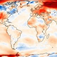 Mars 2017 extrêmement doux dans le Monde
