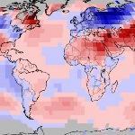 Mars 2018 doux dans le Monde malgré le froid en Eurasie