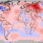 Novembre 2017 de nouveau chaud à l'échelle mondiale