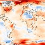 Octobre 2017 parmi les plus chauds observés dans le Monde