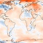 Novembre 2017 en 3ème place des plus chauds sur la planète