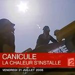 Forte chaleur et canicule en juillet 2006