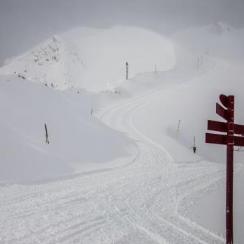 Nos montagnes font le plein de neige