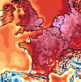 Chaleur : le 3e mois de juillet le plus chaud depuis le début du 20e siècle