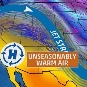 Records de chaleur et records de froid aux Etats-Unis