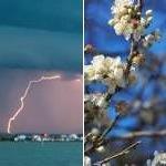 Douceur, vent et orages en marge de la dépression Felix