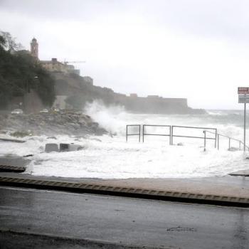 Inondations et fortes rafales de vent en Corse