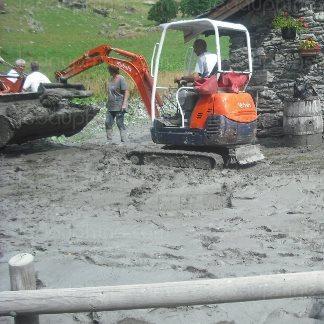 Chaleur sur les Alpes : éboulement, chutes de séracs et crues