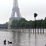 Une crue de la Seine exceptionnelle au mois de juin