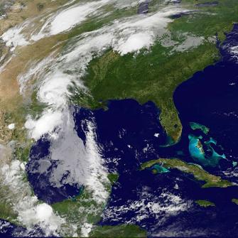 La tempête tropicale Bill provoque des inondations aux Etats-Unis