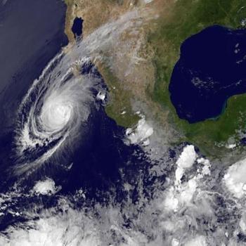 Cyclone Blanca : nouveaux records et pluie en secteur désertique